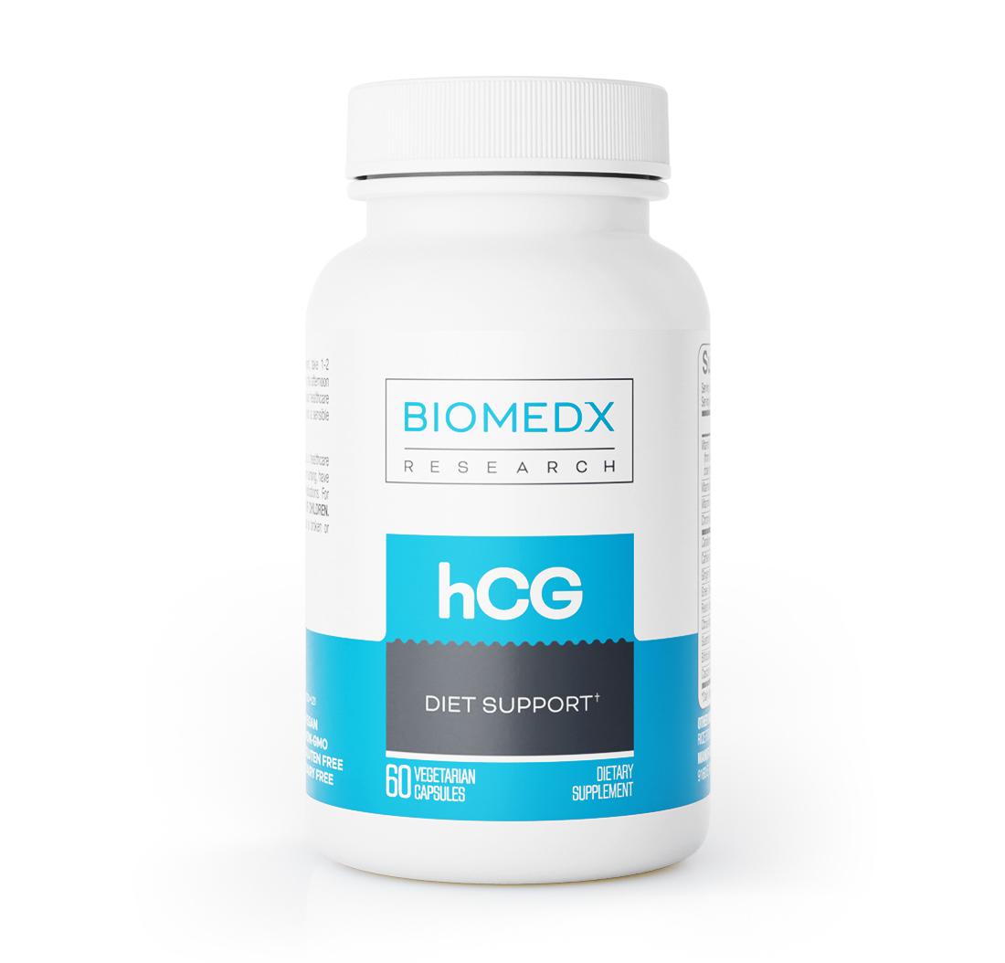 Apoio Para Dieta HCG 60 Cápsulas | BioMedX Research