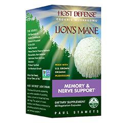 Host Defense Lion's Mane (Organic) 60 Vegetarian Capsules