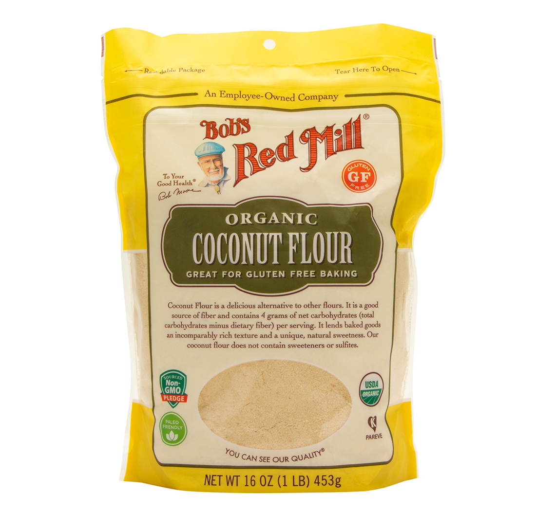 Coconut Flour Organic 16oz 453g By Bob S Red Mill Biovea Australia