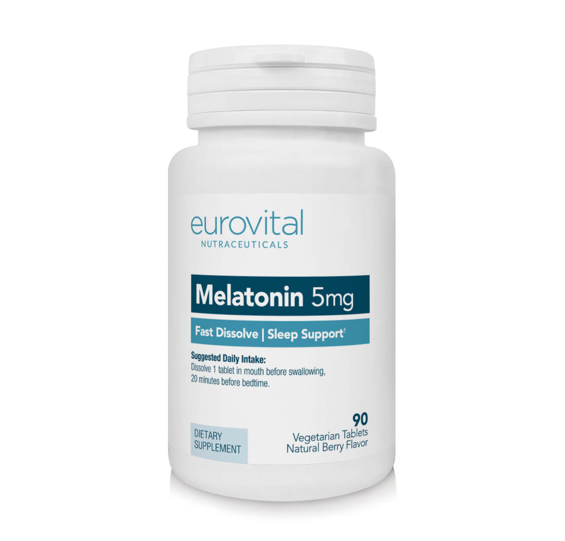MELATONIN 5mg (Fast Dissolve) 90 Natural Berry Flavoured Tablets