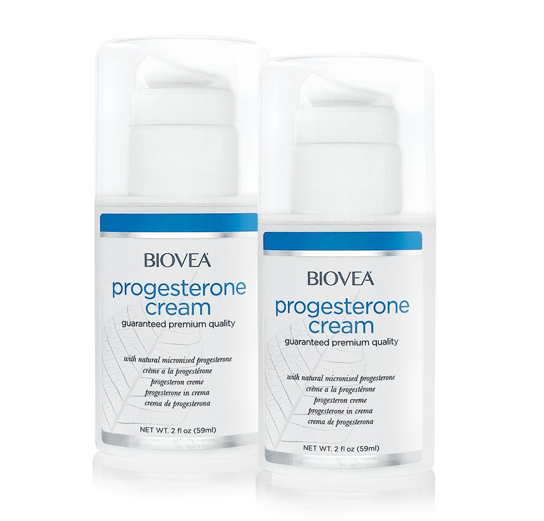 progesterone cream value pack biovea. Black Bedroom Furniture Sets. Home Design Ideas