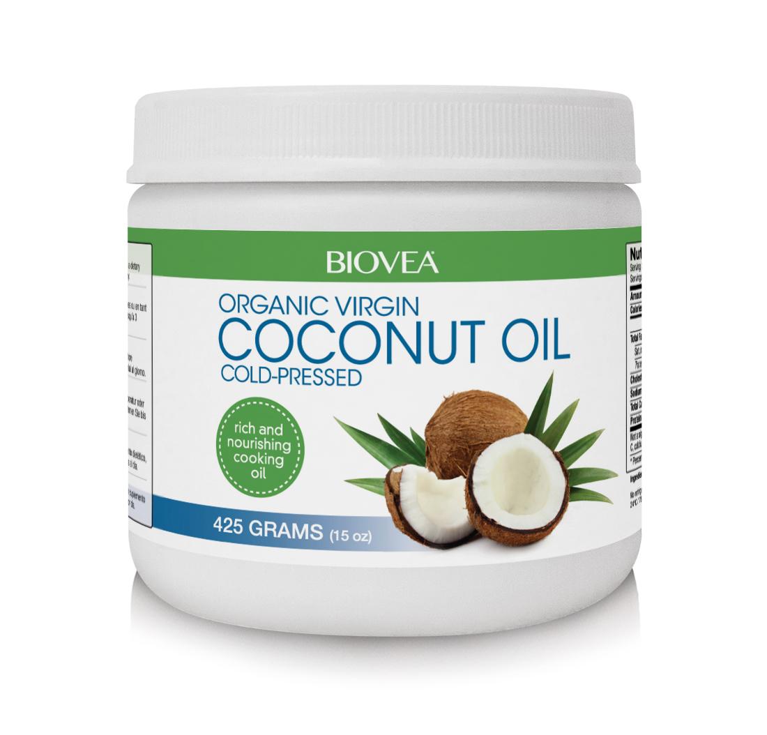 Aceite De Coco Orgánica 425g | BIOVEA
