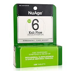 Kali Phos (Potassium Phosphate) (#6) 125 Tablets