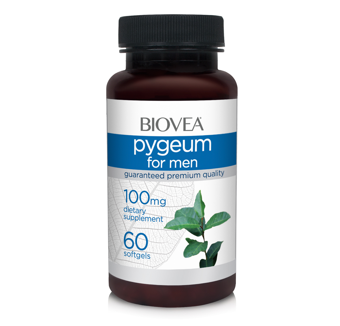 PYGEUM 100mg 60 Softgels | BIOVEA