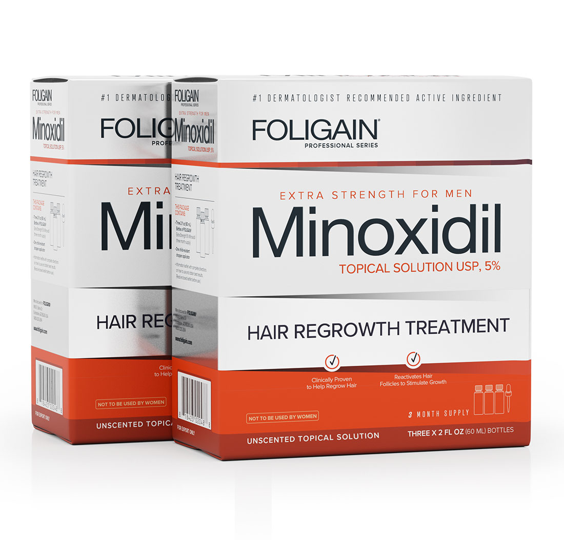 MINOXIDIL 5% FOLIGAIN.P5 6 Month Supply | Anagen Research