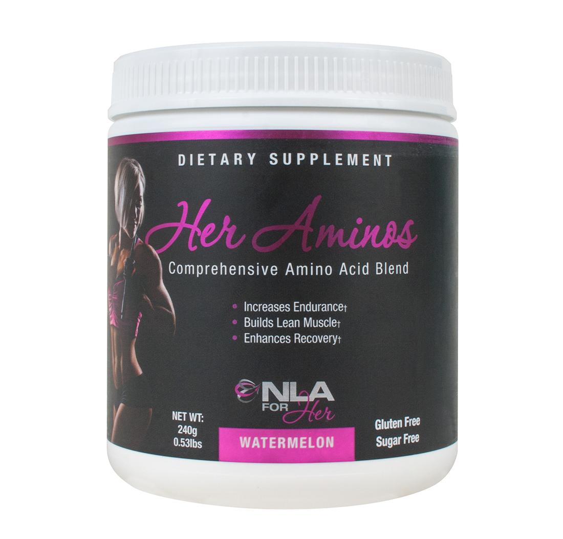 Her Aminos - Aminoacidos Para Mujer Sandía 30 Dosis