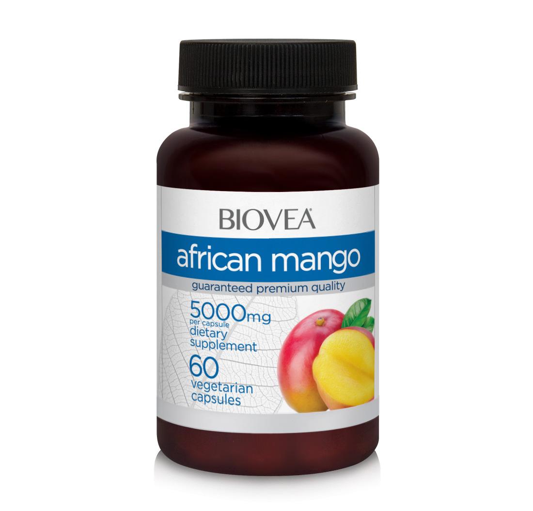 afrikanische mango 5000mg 10 1 500mg 60 kapseln biovea. Black Bedroom Furniture Sets. Home Design Ideas