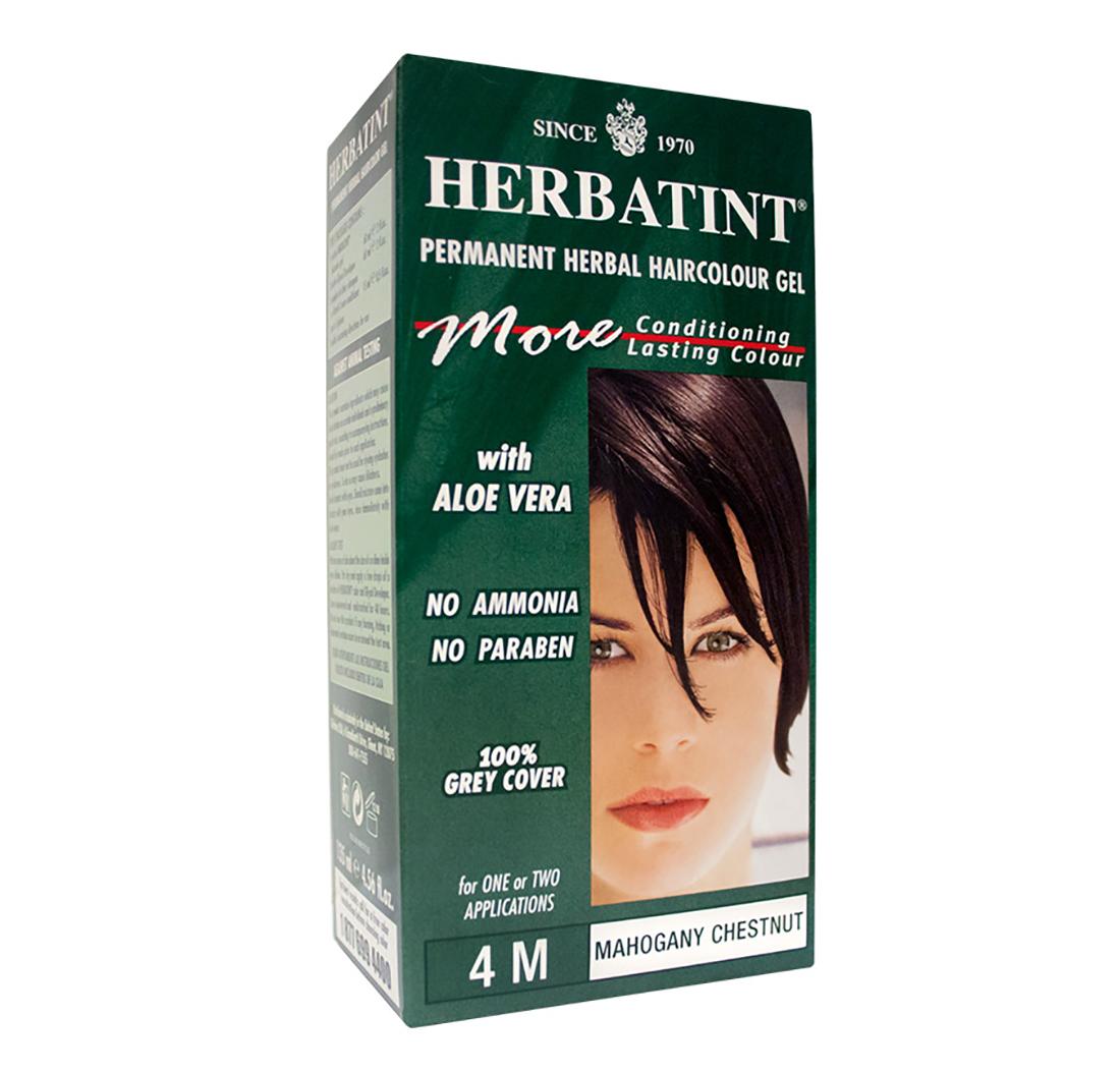 Herbatint Tinte De Pelo Herbal Permanente En Gel Castaño Caoba