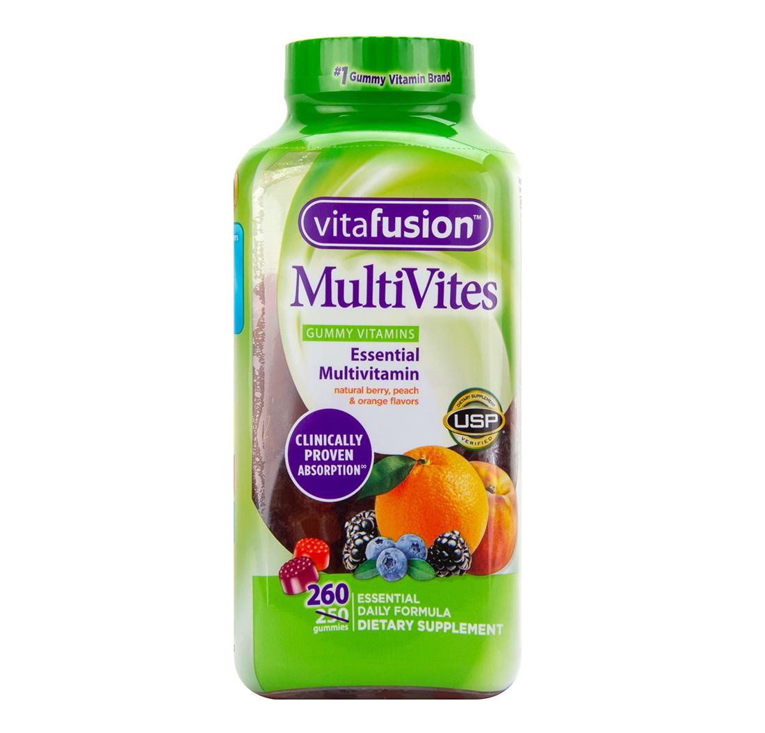 Vitaminas Multivites Gummy Para Adultos 250 Gominolas