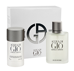 Acqua Di Gio De Giorgio Armani Kit Cadeau 2 Pièces Pour Hommes