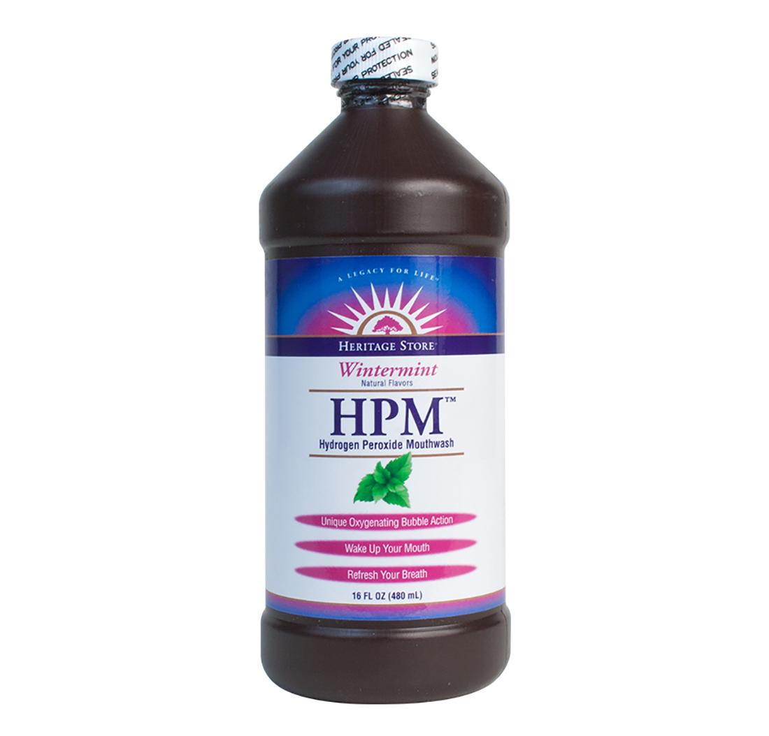 Rince bouche au peroxyde d 39 hydrog ne wintermint 480ml - Peroxyde d hydrogene pour piscine ...