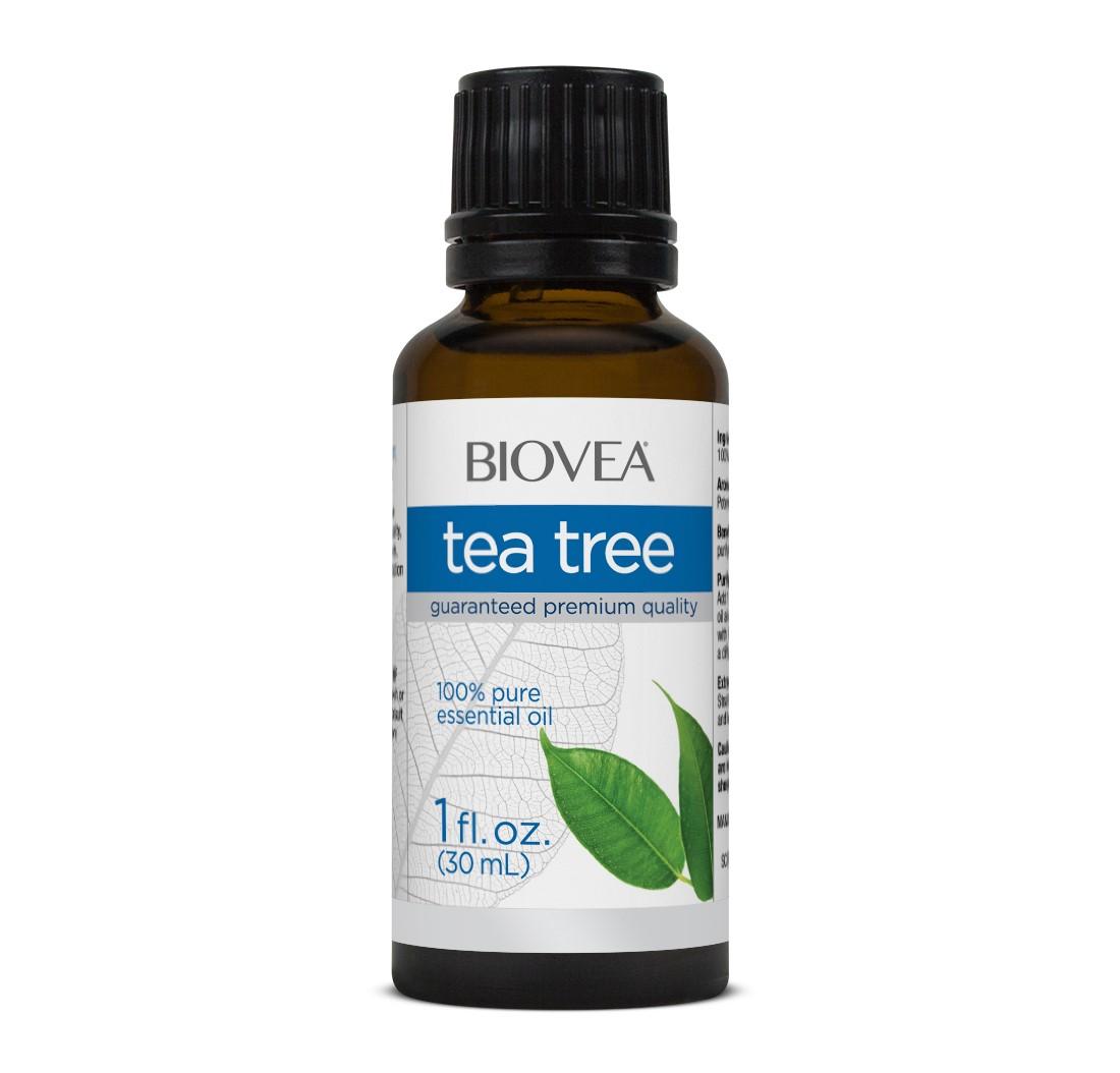 huile essentielle d 39 arbre th 30ml biovea aromatherapy. Black Bedroom Furniture Sets. Home Design Ideas
