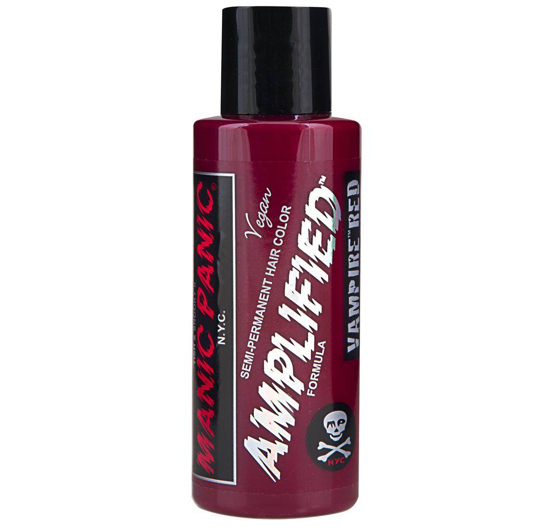 amplified coloration semi permanente pour cheveux vampire red 118ml - Coloration Cheveux Semi Permanente
