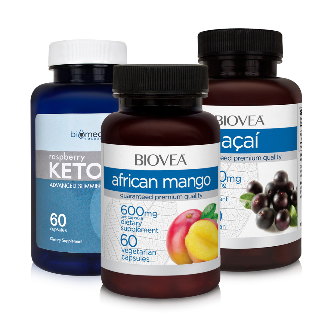 Acai African Mango Raspberry Ketone Value Pack By Multiple