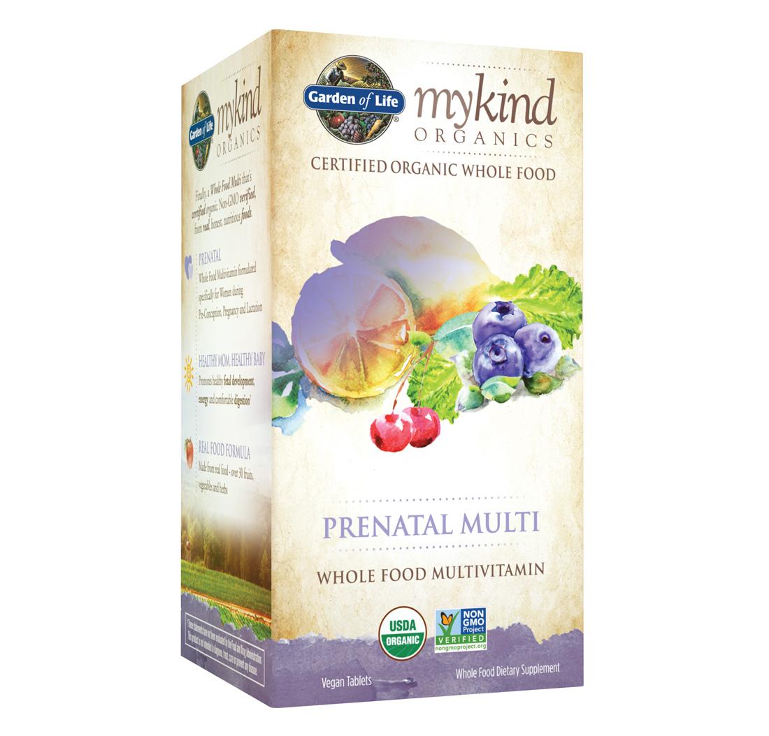 Mykind Organics Prenatal Multi Organic 90 Tablets By Garden Of Life Biovea Indonesia