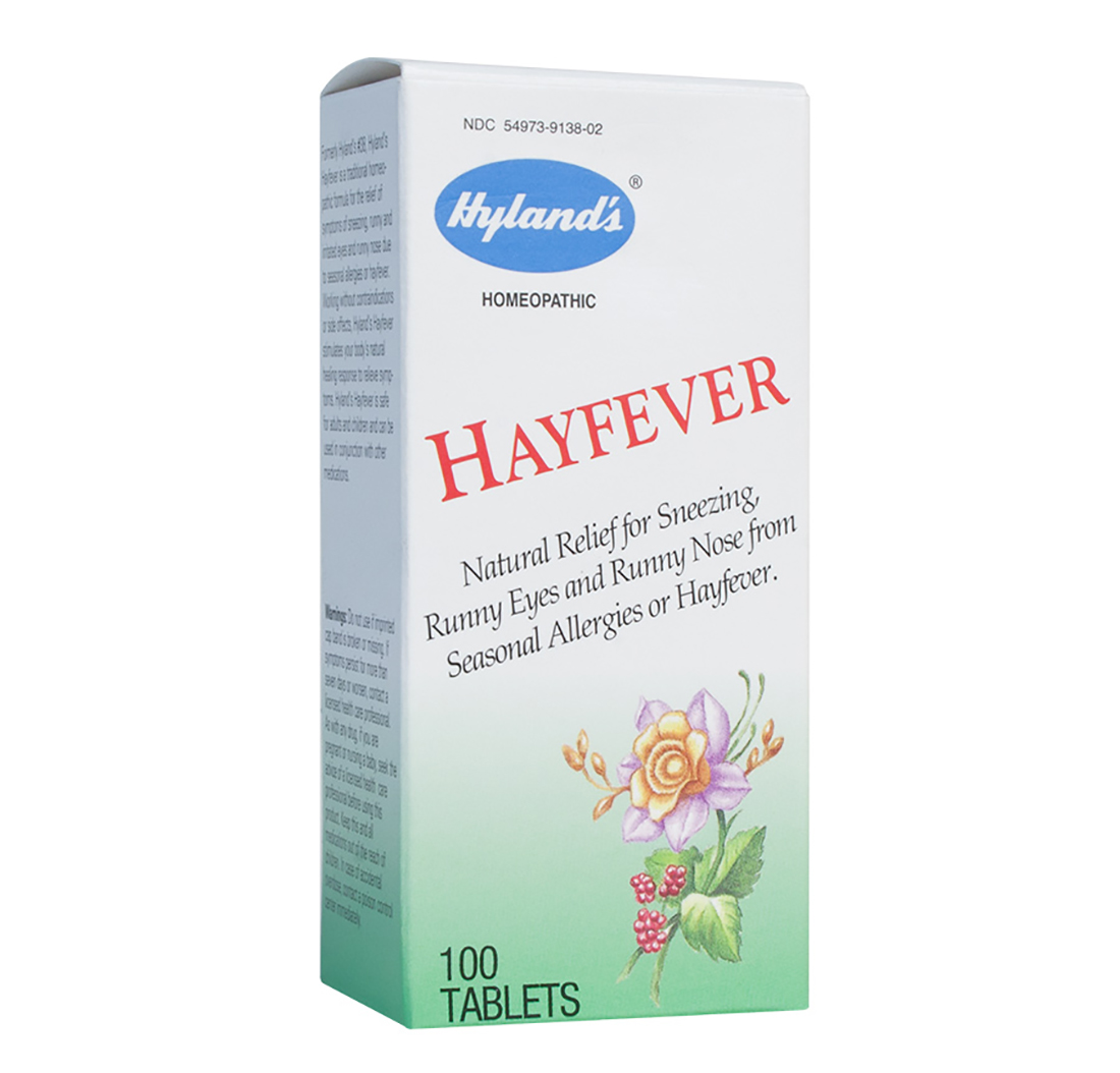 Homeopathic hayfever tablets