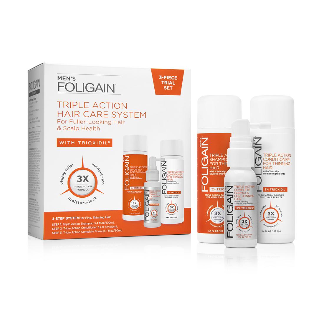 Foligain Sistema Completo A Tripla Azione Per L assottigliamento 563de1d90f4a