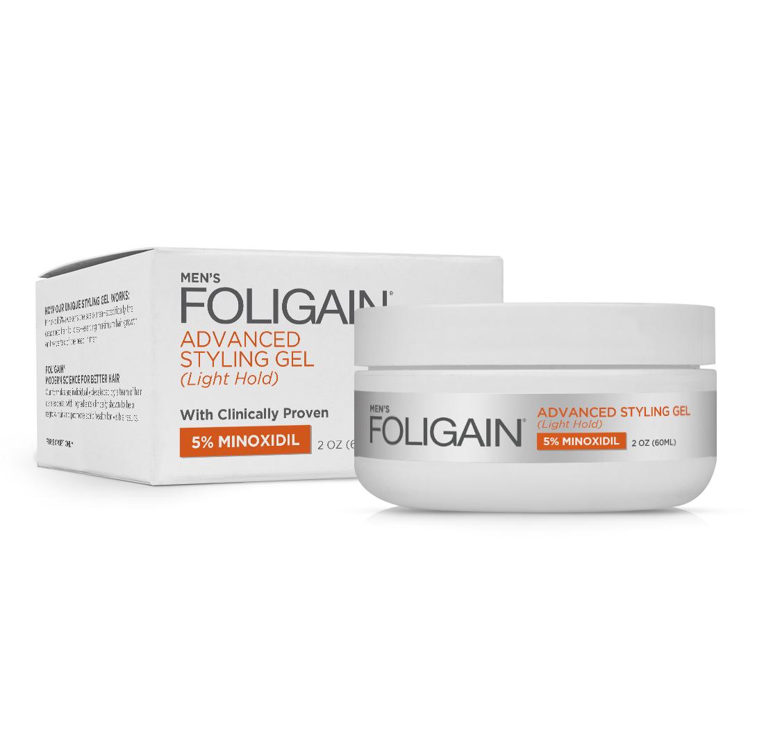 Foligain.G5 Minoxidil 5% Gel Per La Ricrescita Dei Capelli 97aaca891783