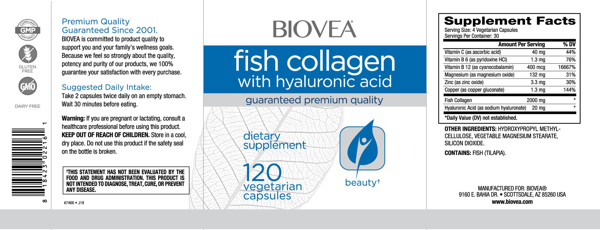 Kolagen rybi oraz kwas hialuronowy 120 kapsu ki przez for Kolagen w tabletkach