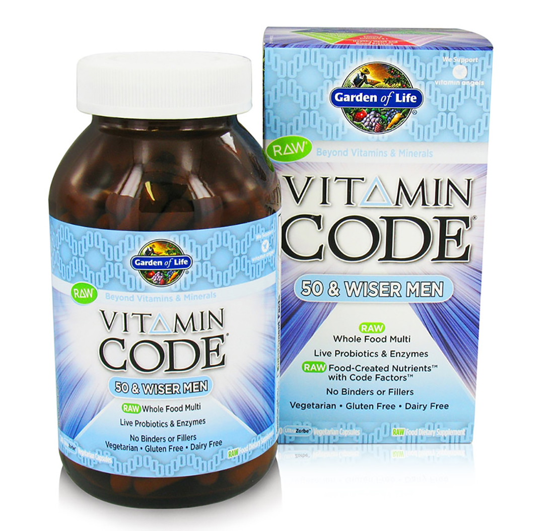life code over garden canada raw for of free vcaps vitamin shipping in men only