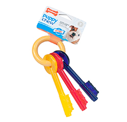 Puppy Bacon Small Teething Keys