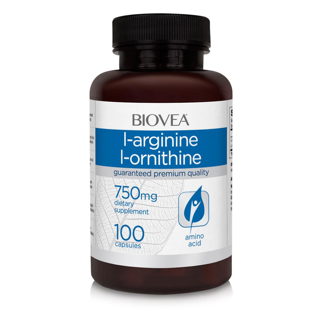 L arginine with ornithine
