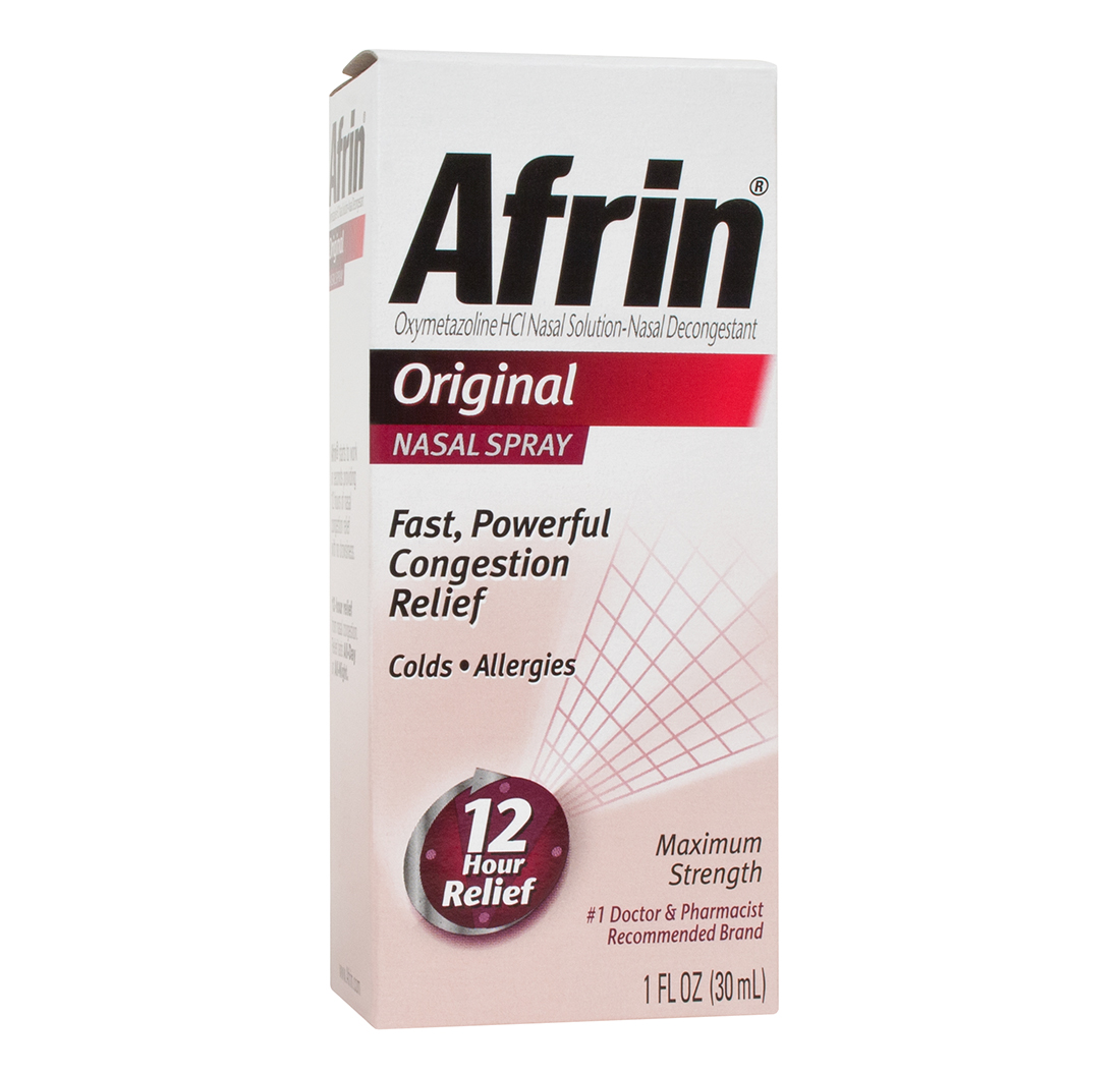 Afrin nasal spray original 12 hour relief 1 fl oz 30ml