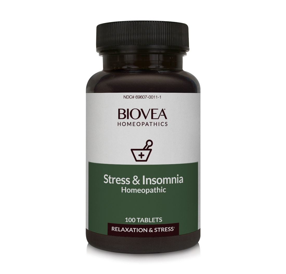 stress insomnia homeopathic remedy 100 tablets. Black Bedroom Furniture Sets. Home Design Ideas