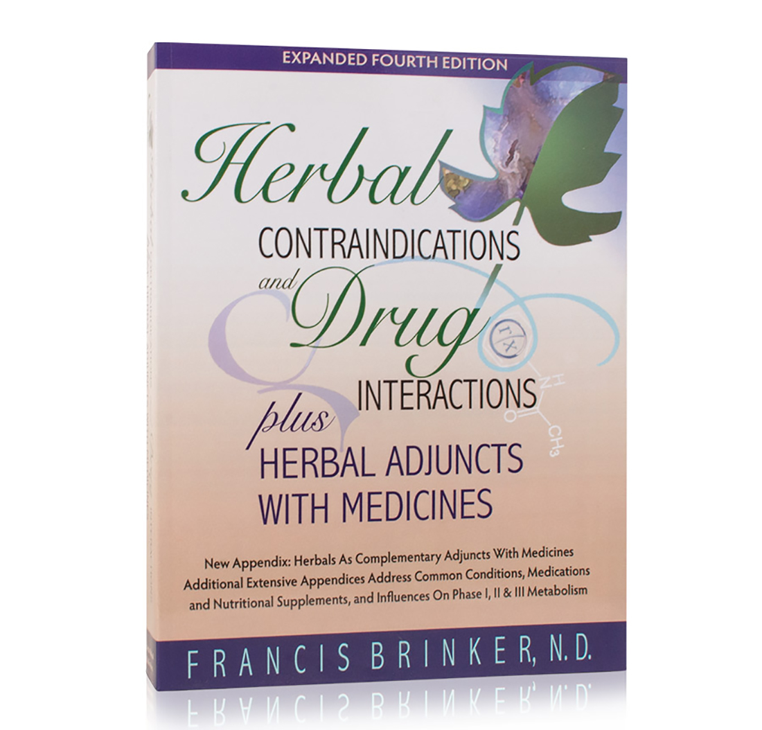Herbal Contraindications and Drug Interactions Plus Herbal Adjuncts With Medicines